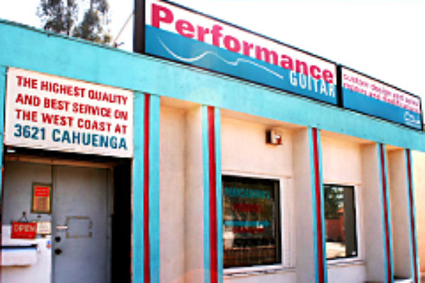 Performance Guitar Store Front
