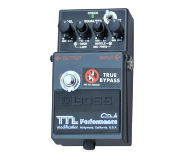 Performance Guitar - MT-2 with Tryebypass (Metal Zone)
