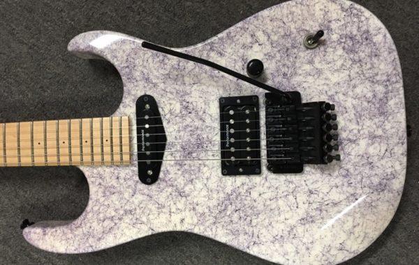 Performance Guitar Corsair Purple Web (3)