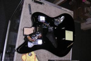 Joe Walsh's Jaguar -3 Rewiring by Performance Guitar