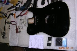 Joe Walsh's Tele -5 P.U. Installation by Performance Guitar