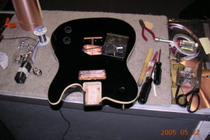 Joe Walsh's Tele at Performance Guitar-8